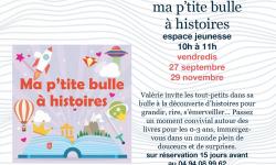 MA P'TITE BULLE A HISTOIRES 2019