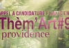 "Inscriptions Thèm'Art#9 ""Providence"""