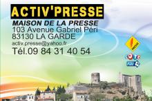 ACTIV PRESSE - MAISON DE LA PRESSE