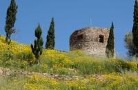 La tour sud-ouest du château