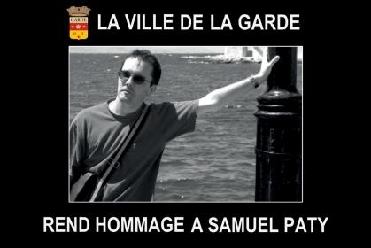Hommage national à Samuel Paty