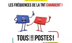 TNT: changement des fréquences