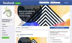 La Médiathèque est sur Facebook