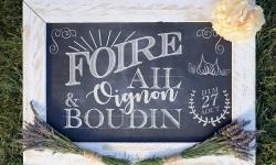 Foire à l'Ail à l'Oignon et au Boudin 2017