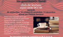 CLUB LECTURE LES GOURMANDS LISENT 2019