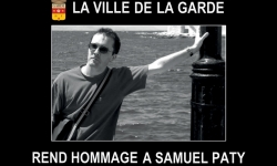 Hommage national à Samuel Paty