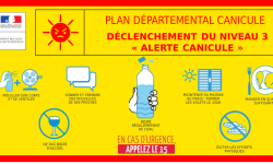 Plan Canicule : inscription sur le registre