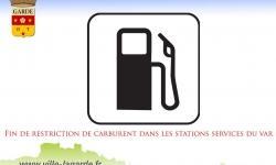 Levée des restrictions de l'achat de carburant dans les stat
