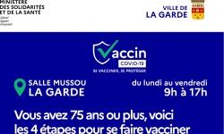 Campagne de vaccination des personnes de plus de 75 ans