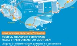 Projet Ligne Nouvelle Provence Côte d'Azur