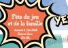 10EME EDITION : FÊTE DU JEU ET DE LA FAMILLE