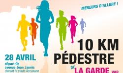 10 KM PEDESTRE DE LA GARDE