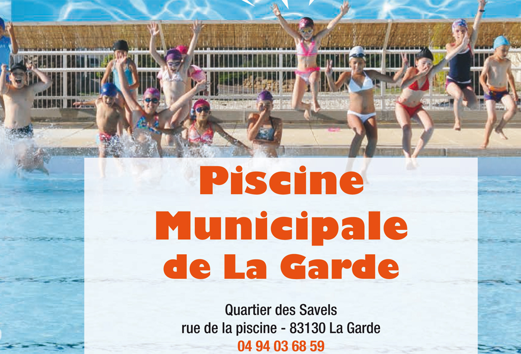 Ouverture de la piscine municipale site officiel ville for Piscine la garde